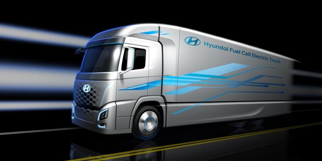 Hyundai Siapkan Truk Fuel Cell untuk Dijual