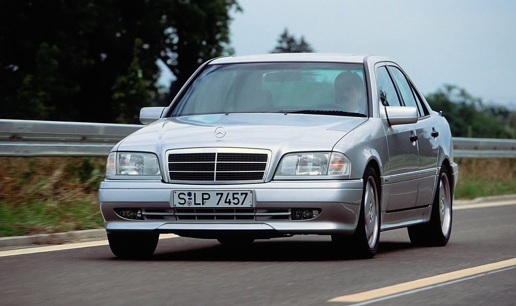 Mercedes-Benz C 36 AMG, Cikal 25 Tahun Lalu