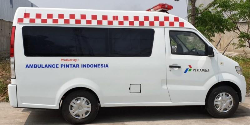 DFSK Super Cab Dipercaya Jadi Mobil Ambulance