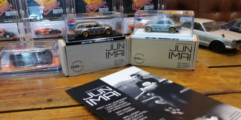 Indonesia Diecast Expo 2018 akan Datangkan Jun Imai