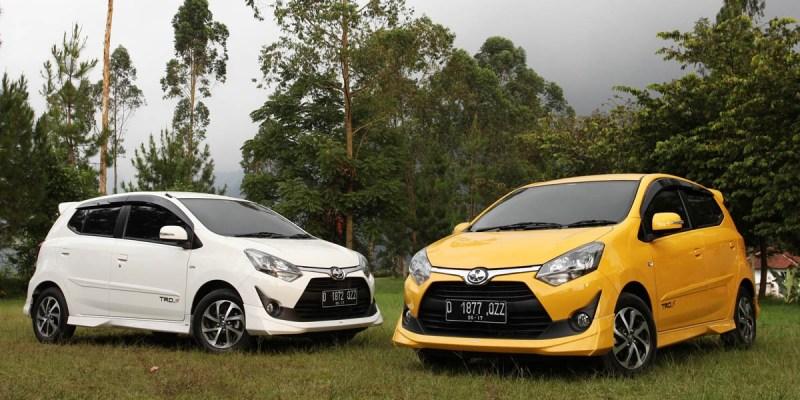 Kontribusi Agya Dalam Penjualan Toyota