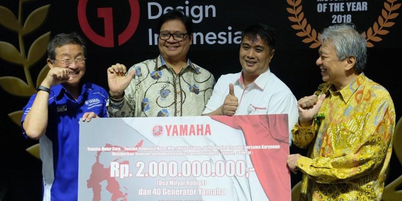 Yamaha Sumbang RP 2 Miliar Untuk Korban Bencana Sulteng