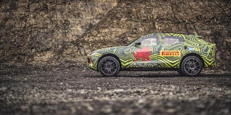 Saatnya Menanti SUV Aston Martin DBX