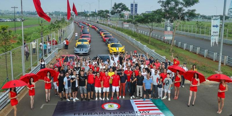 Berbagai Varian Ferrari Ikuti 'Ferrari Track Day 2018'