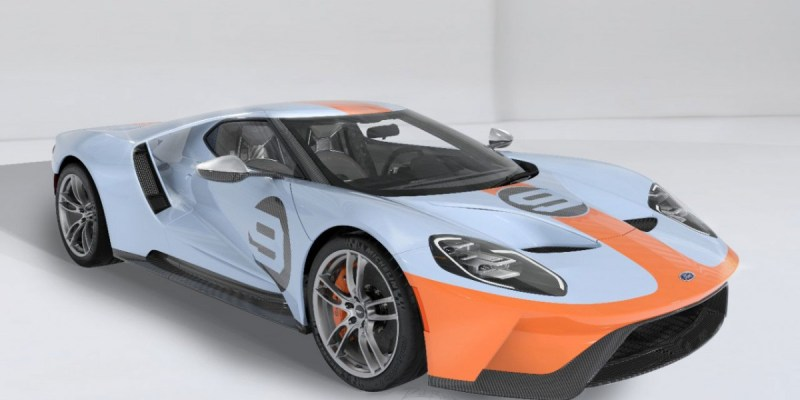 Ford GT Heritage Edition VIN 001 akan Dilelang!