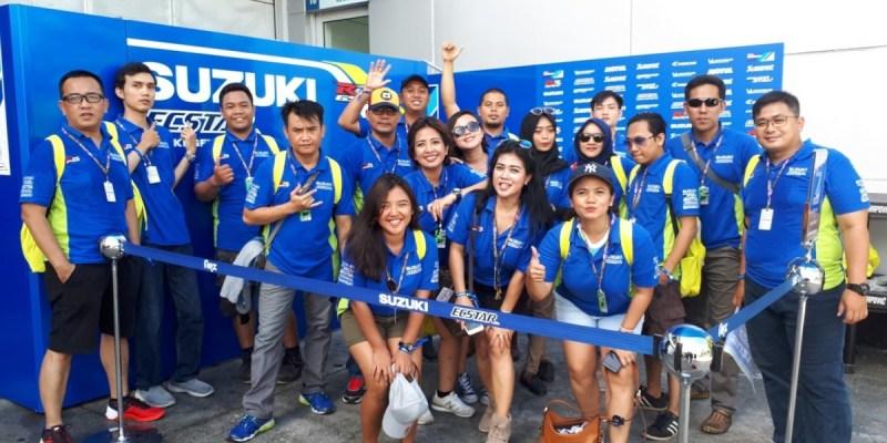 Konsumen Suzuki Jadi Saksi Kehebatan Alex Rins di Sirkuit Sepang
