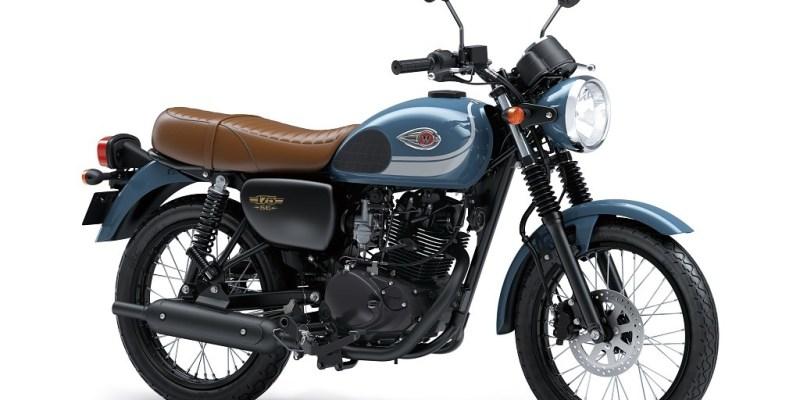 Warna Baru Kawasaki W175, Makin Identik Klasik