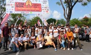 'Lombok-Palu Charity Tour PPMKI 2018' Keliling Bali
