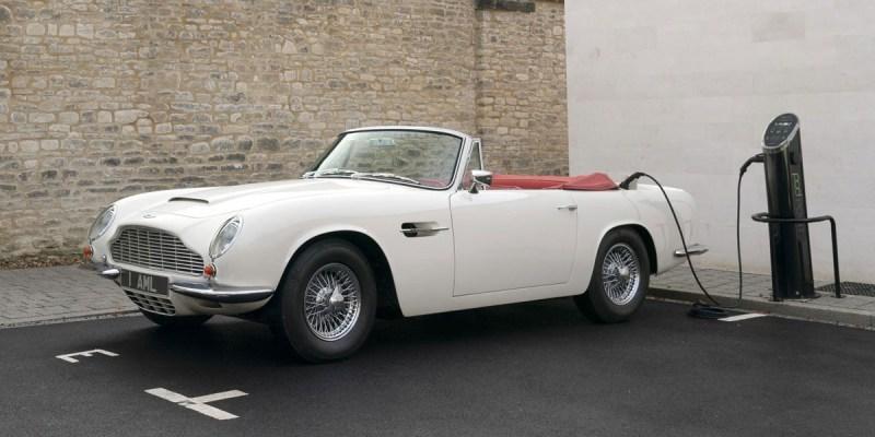 Aston Martin Klasik Kini Bertenaga Listrik!