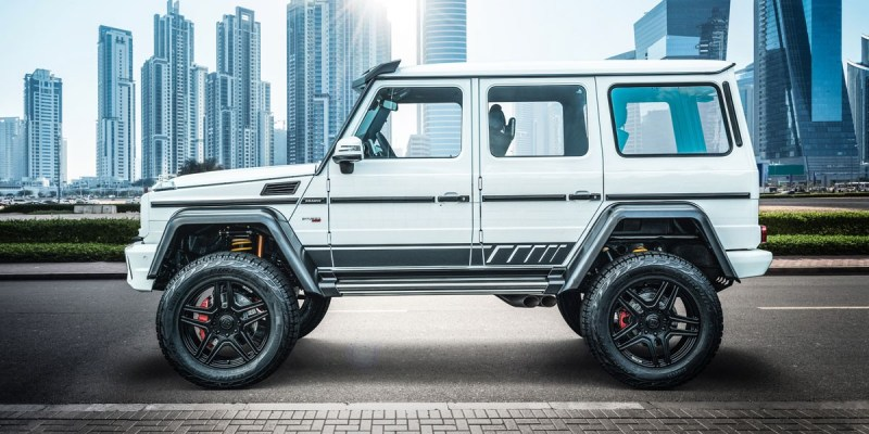 "Brabus 700 4×4² ""one of ten"" Final Edition"