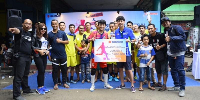 Komunitas Suzuki Makin Kompak dengan Kegiatan Futsal