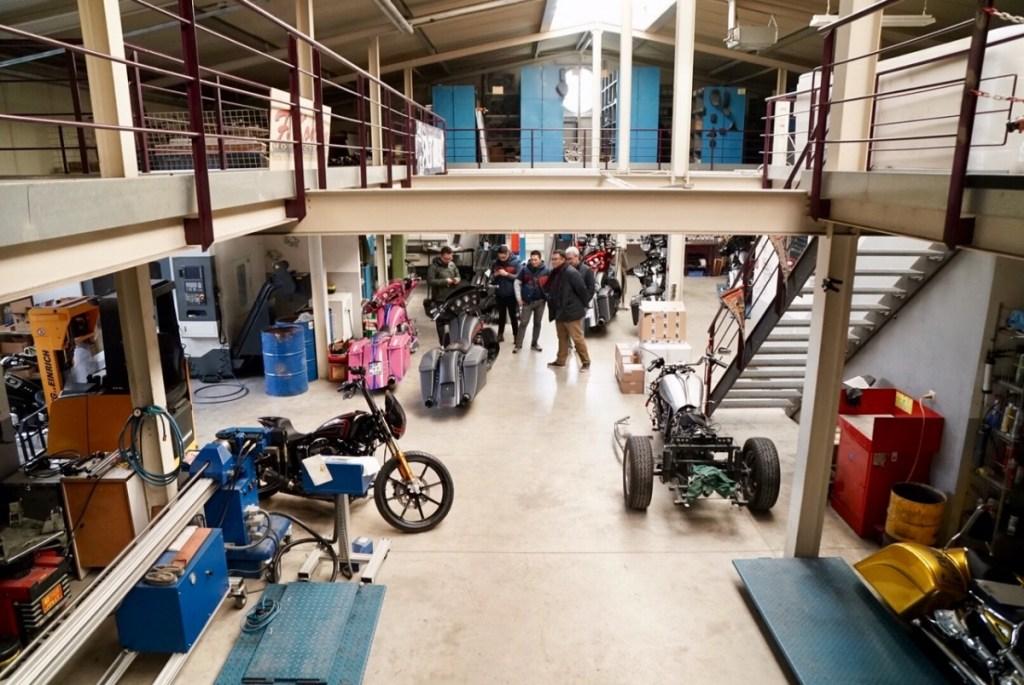 Tim Suryanation Motorland Curi Ilmu dari Builder Jerman