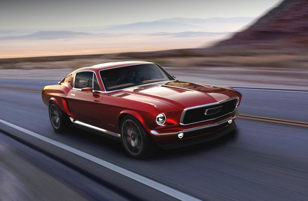 Ini Dia, Mobil Listrik Segahar Mustang Shelby