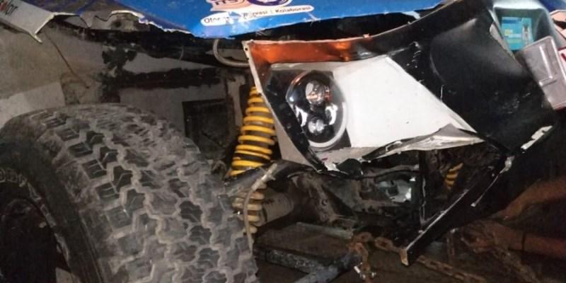 Mobil Listrik 'Blits' Alami Kecelakaan, Nekat Lanjutkan Perjalanan