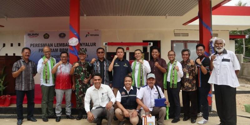 Lebih Cepat dari Target, BBM Satu Harga di Maluku Resmi Beroperasi