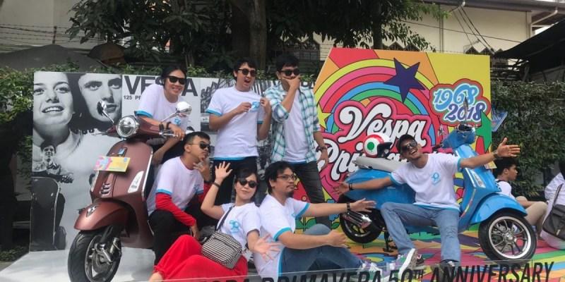 Keseruan Perayaan 50th Vespa Primavera di Kota Medan