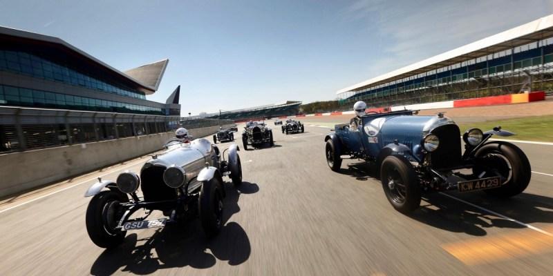 100 Tahun Kejayaan Bentley Dirayakan di Silverstone Classic