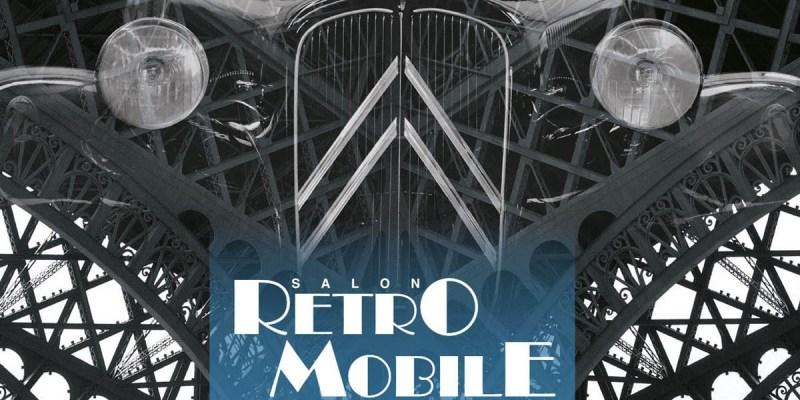 Mobil Bersejarah Citroen Akan 'Mejeng' di Retromobile 2019
