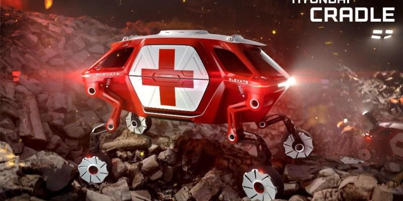 Hyundai Elevate Concept, Berkaki!