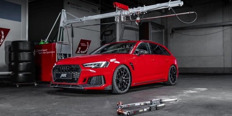ABT RS4+, Mainan Baru dari Garasi Modifikator Jerman