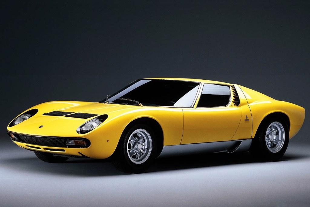 Ini Dia, 5 Lamborghini Miura yang Lolos Pebble Beach