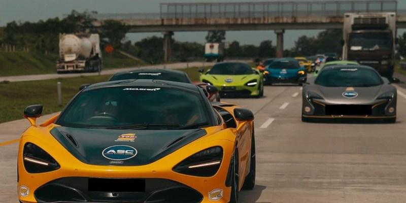 20 McLaren Berbagai Varian Ikuti 'Driving Experience' MCI