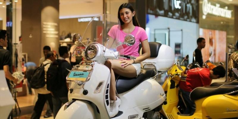Piaggio Hadirkan Pameran di Mal Jakarta Barat, Ada Promo Apa Saja?