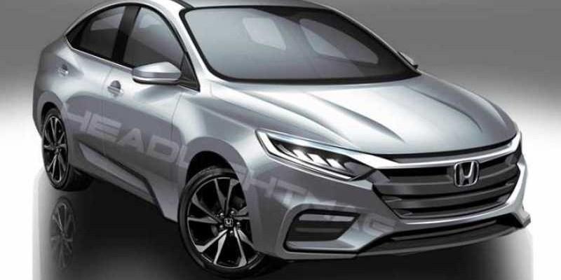 Honda City Generasi Terbaru Bermesin Turbo, Inikah Tampangnya?