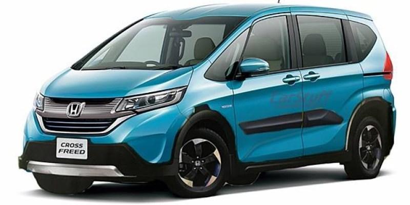 Honda Freed Bergaya Crossover Segera Meluncur?
