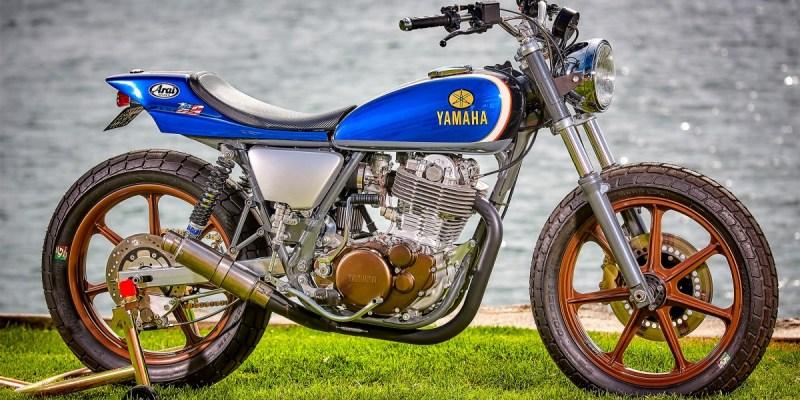 Yamaha 'Tracker' SR500, Beda dari Biasanya