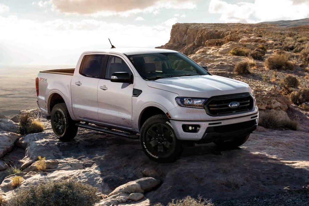 All New Ford Ranger Black Appearance Package