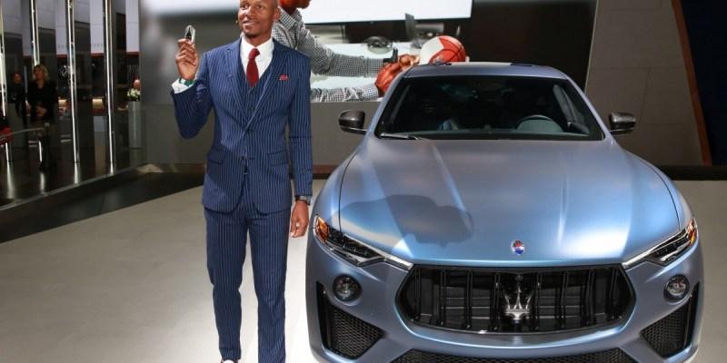 Maserati Levante GTS Ini Buat Jagoan Basket NBA