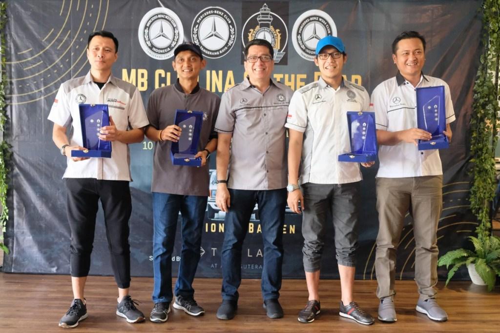 Jelang Munas, Region Banten Gelar 'MB Club INA On The Road'