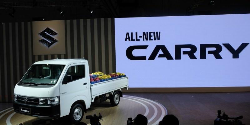 World Premier Suzuki New Carry Pick Up di Telkomsel IIMS 2019