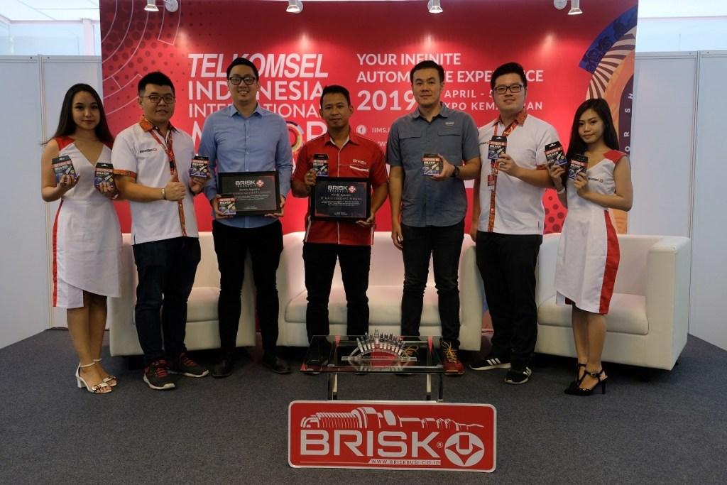 Busi Brisk Silver Racing, Cocok Buat Semua Kendaraan