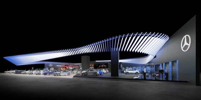 Mercedes-Benz Cars di Auto Shanghai 2019