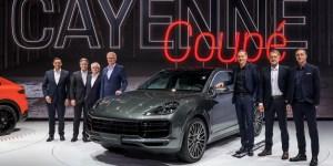 Porsche Cayenne Coupe Diboyong ke Auto Shanghai 2019