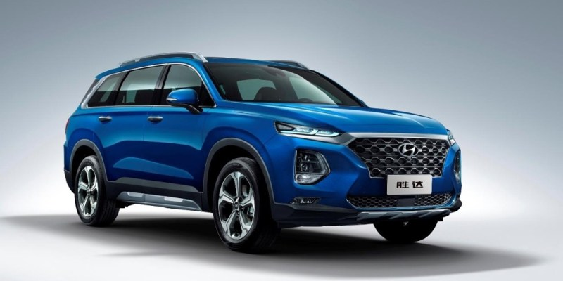 All-new Hyundai Santa Fe Ini Versi China