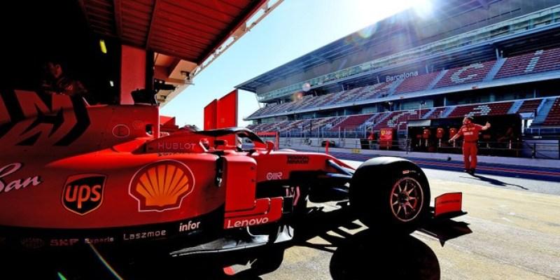 Hasil Pengetesan Scuderia Ferrari di Spanyol