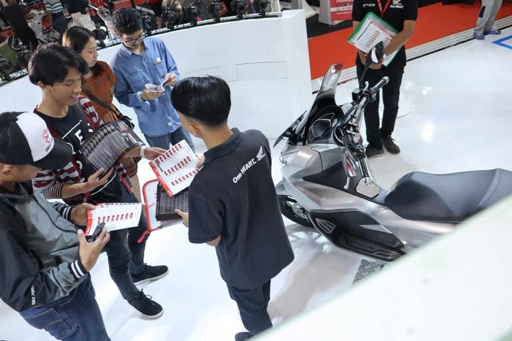 Honda PCX Laris Manis di IIMS 2019