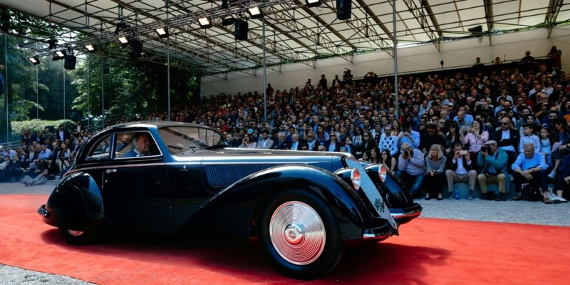 Alfa Romeo 8C 2900B Berlinetta Touring Raih 'Best In Show'