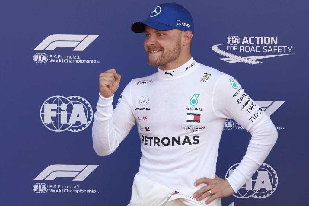 Valtteri Bottas, Hat Trick Pole Position F1 2019