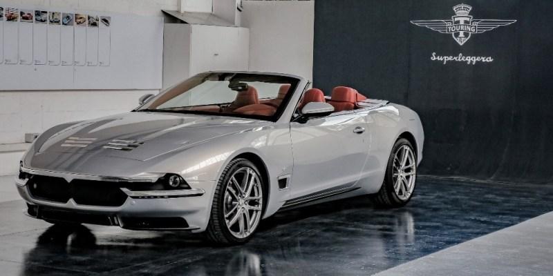 Maserati Touring Sciàdipersia Cabriolet, Memukau!