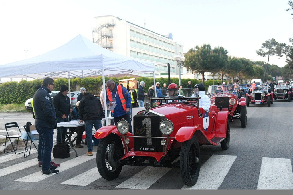 1000 Miglia 2019: Persaingan Antar Alfa Romeo