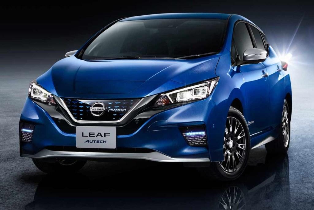 Nissan LEAF Autech, Bergaya lebih Sporty