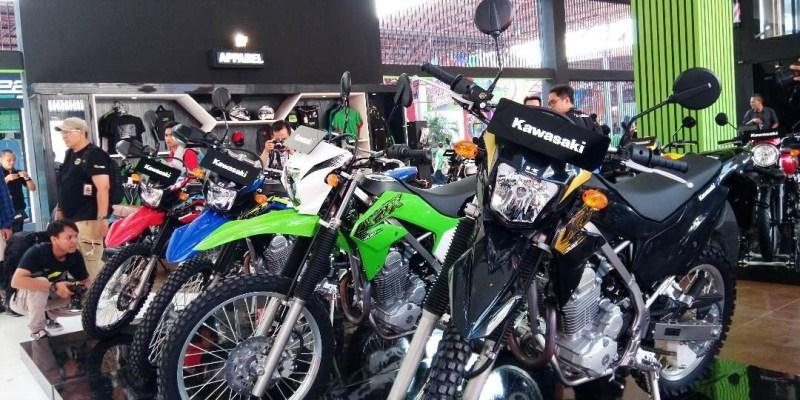 World Premiere! Kawasaki Luncurkan KLX230 di Jakarta Fair 2019