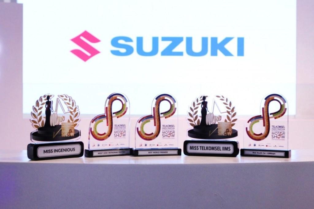Suzuki Borong Anugerah di Telkomsel IIMS 2019