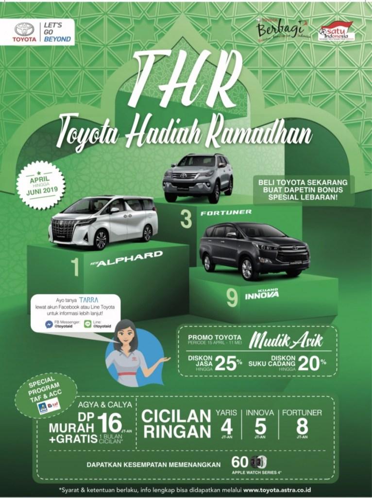 Toyota Berikan THR, Beli Mobil Toyota Bisa Dapatkan Alphard