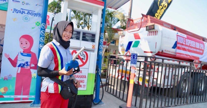 Pertamina Siapkan SPBU Modular untuk Pemudik Tol Lintas Sumatra