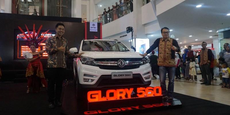 DFSK Glory 560 Bertemu Masyarakat Palembang